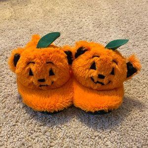 Build A Bear Pumpkin Slippers L (1-2)